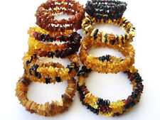 REAL BALTIC AMBER BRACELETS - SPIRAL ( CHOOSE YOUR COLOR )