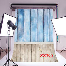 3X5FT Retro Wood Floor Vinyl Photography Backdrop Background Studio Props ZZ390