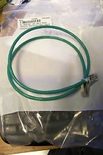 new q-tron 533-120-003 3' cat5e cable shielded crossover cable green