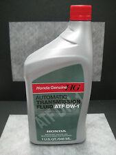 Honda Genuine ATF DW-1 Automatic Transmission Fluid 1 Quart - Ships Fast!