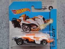 Hot Wheels 2014 #060/250 WATTZUP blanc/orange HW CITY Lot G Neuf Fonte