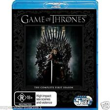 Game of Thrones COMPLETE SEASON 1 : NEW Blu-Ray