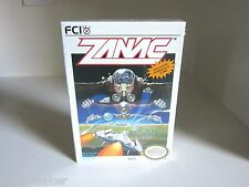 "Zanac Nintendo NES  Brand New, Unopened, Sealed ""H"" Seam Rare."