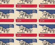 Mount Rushmore Airmail Stamp Sheet, Scott # C88, MNH