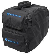 Rockville Transport Bag for 4) Chauvet SLIMPAR56 SLIMPAR 56 Wash Lights Par Cans