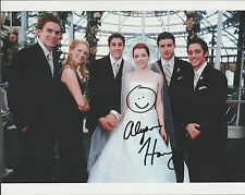 ALYSON HANNIGAN Signed 8 x 10 Photo Autograph w/ COA SWEET Pic & Nice AUTO