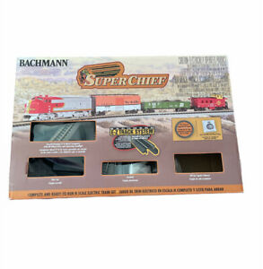 Bachmann Super Chief N Scale Ready to Run Electric Train Set 24021 Tested Works