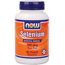 Selenium 180 Caps 200mcg by Now Foods