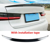 """""""Factory MP Style"""" GlossBlack Trunk Spoiler Fit For BMW 3 Series Sedan G20 19-21"""