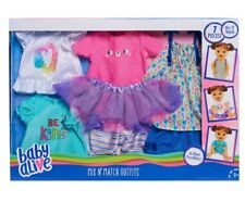 Baby alive mix and match  outfit set