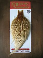 Fly Tying Whiting Bronze Rooster Cape Barred Medium Ginger #A