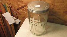 Antique Hoosier Sellers Kitchen Cupboard Coffee Jar   No. 2