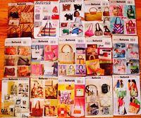 TOTE PURSE BAG KNIT SEWING MACHINE BAG Quilt Sew Pattern ~ UC/FF ~ U PICK