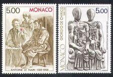 Monaco Art Postal Stamps
