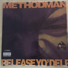 "METHOD MAN - Release Yo Delf - 12"" Single Vinyl NEW 1994-ORIG SHRINK DEF854-185"