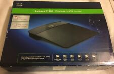 Linksys E1200 Wireless-N Router 300 Mbps 4-Port 10/100