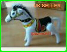 Inflatable Horse black and white great fun for kids