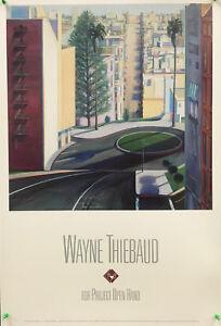 Wayne Thiebaud - Circle Street - 1990 - Offset