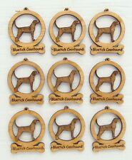 Bluetick Coonhound Mini Ornaments Box of 9