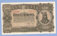 Hungary, 500 korona, 1923, without imprint, UNC, P 74b