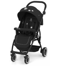Kiddy Urban Star 1 Stroller Travel System PushChair Push Chair Pram Mystic Black