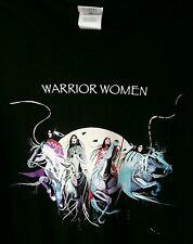 Native American Art T-shirt Dana Tiger Warrior Woman Indian Jerome Sz XXL 2X New