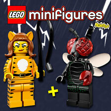 LEGO Minifigures #71010 - Halloween / Monsters - Tiger Woman + Fly Monster - NEW