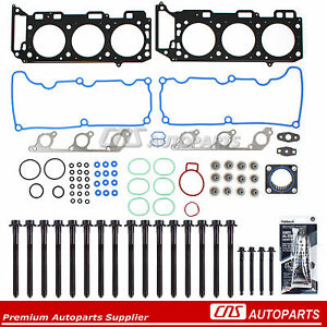 Head Gasket Set Bolts Fits 04-11 Ford Ranger Explorer Mazda Mercury 4.0 VIN E