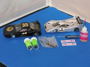 Set Of 2-1/24 Scale Slot Cars & Accessories Parma?
