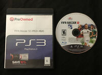 FIFA Soccer 12 — Cleaned/Tested! Fast Free Shipping! (PlayStation 3, ps3, 2011)
