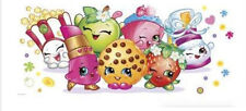 SHOPKINS GROCERY PALS wall stickers MURAL 1 decal kid's party wall decor