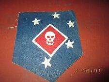 WWII USMC FMF RAIDER BATTALION  FLIGHT JACKET   PATCH