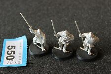 Games Workshop Lord of the Rings Morannon Orcs x3 Metal New Mordor Unpainted OOP
