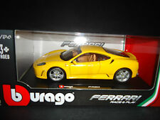 Bburago Ferrari F430 Yellow 1/24