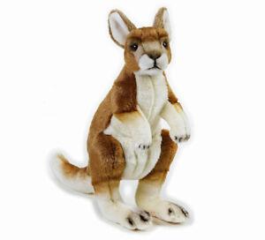 "Kangaroo Stuffed Animal 12""/30cm plush toy National Geographic NEW"
