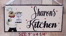 FAT CHEF ITALIAN PERSONALIZED SIGN WALL KITCHEN BISTRO CUCINA DECOR ANY NAME .