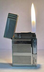 Vintage lighter Dupont Gatsby Platinum Plated 🔥 Very Good