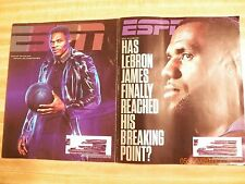ESPN Magazines Russell Westbrook Lebron James NBA basketball all stars players