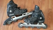 Roces Paris Cdg Race Skate 5 Wheel -hard to find 5 x 80 mm Size 10.5 mens Italy