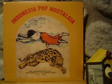 INDONESIA POP NOSTALGIA LP/'70s-'80s Pan-Indonesian Pop/Folk/Sublime Frequencies