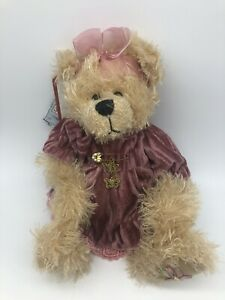 Settler teddy bear - LIZZIE from the Butterfly collection