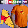 Disney Winnie the Pooh Bear Classic Cartoon Movie Unisex Mens Tee Crew T-Shirt