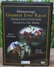 HORSERACING GREATEST EVER RACES DOUBLE DVD COLLECTION PRESENTED BY CLARE BALDING