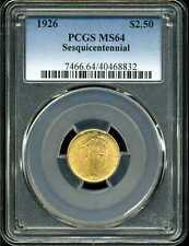 1926 G$2.5 Sesquicentennial Commemorative Quarter Eagle MS64 PCGS 40468832