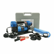 Broutech Automatic 12V Dual Cylinder Portable Air Compressor Kit Tire Inflator