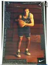 Original 1995 NIKE Sealed Basketball Poster Jason Kidd Rookie Mavericks #5485