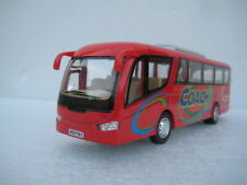 Coach Bus Red Diecast Model Toy Car