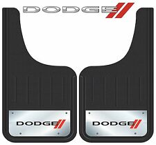 "2 Pc Front Dodge Elite Front Mud Guards Heavy Duty For Trucks & SUVs's 12"" x 23"""