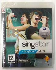 SINGSTAR VOL. 3 in Italiano PS3 Sony Playstation