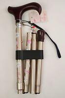 NEW!Hello Kitty WALKING CANE Stick Walking Folding Canes Japan limited Free Ship